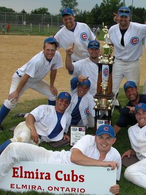 2005 ISC II Champions, the Elmira ON Cubs