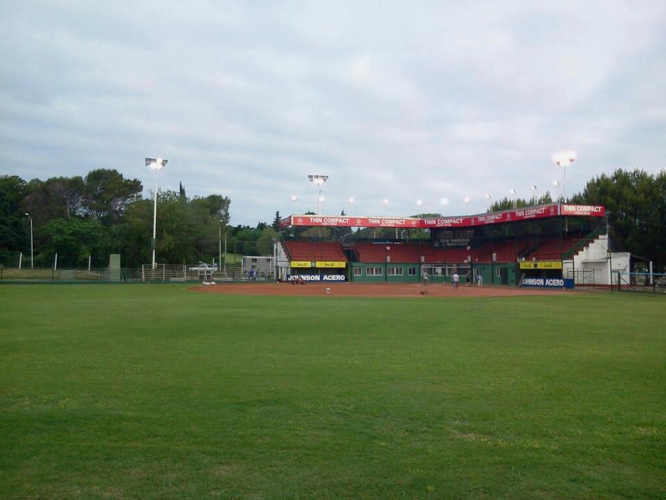 Nafaldo Cargnel stadium in Parana Argentina, host of the 2014 Pan Am Qualifier. (IX Conpasa Men's Fastpitch PanAm) Confederación Argentina de Softbol - October 25-November 2, 2014. — in Paraná, Entre Rios.
